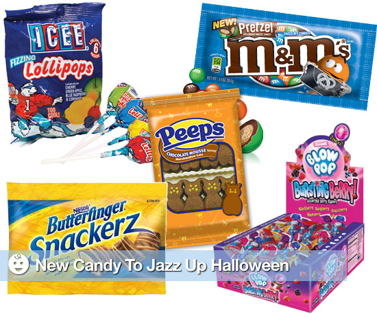 New Candy to Jazz Up Halloween