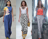 Photos of Wide Leg Trousers on the Spring 2011 Catwalks at London Fashion Week