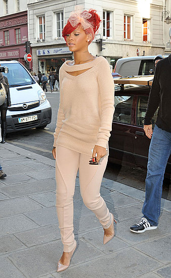 Rihanna Shops in Paris — Love or Hate Her Nude Look?