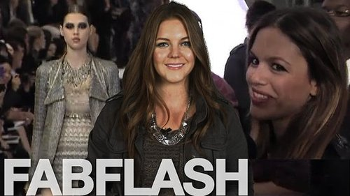 Chanel Spring 2011 Runway Video and Interviews with Rachel Bilson, Claudia Schiffer and More.