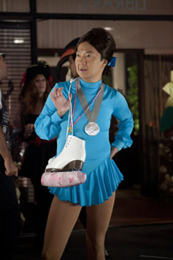Chang as a Figure Skater