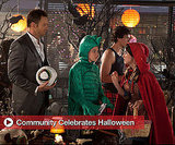 Pictures From Community TV Show in Halloween Costume