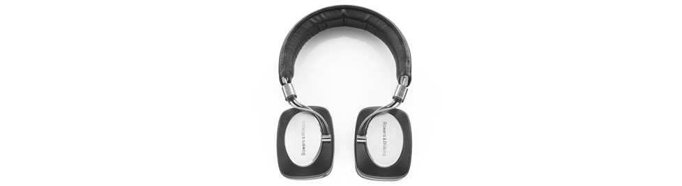 Photos of David Beckham and Bowers & Wilkins Headphones