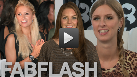 Catch FabSugarTV's interview with Nicky Hilton, and while you're at it, hear what Lanvin's Alber Elbaz told us!
