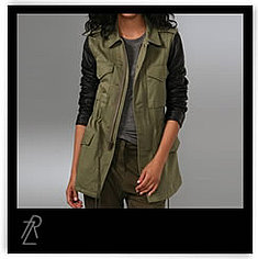 Get Rachel Zoe's fabulous military picks.