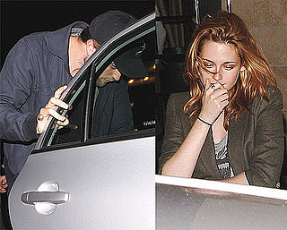 Pictures of Robert Pattinson and Kristen Stewart at the Beverly Hills Thompson Hotel in LA