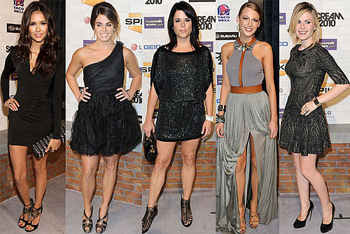 2010 Spike Scream Awards Kristen Stewart, Blake Lively, Ryan Reynolds, Anna Paquin, Alexander Skarsgard