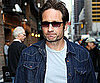 Slide Picture of David Duchovny at Letterman