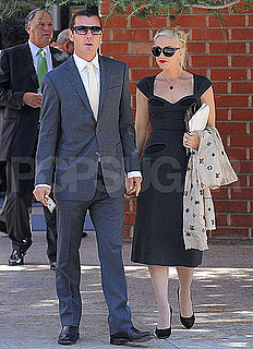 Pictures of Gwen Stefani and Gavin Rossdale Leaving Temple in LA