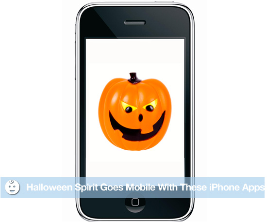 Halloween Spirit Goes Mobile With These iPhone Apps