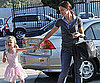 Slide Picture of Jennifer Garner and Violet in LA