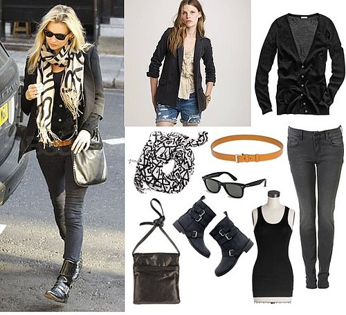 Pictures of Kate Moss Casual Street Style