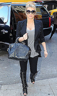 Pictures of Jessica Simpson Continuing a Stylish Week in NYC