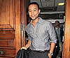 Slide Picture of John Legend Leaving a TV Studio in London