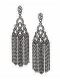 Tinley Road Deco Fringe Earrings ($24)