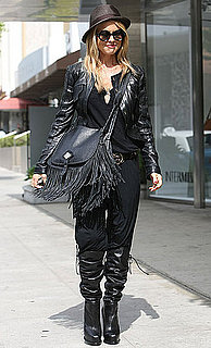 Pictures of Rachel Zoe Engaging in Some Retail Therapy on Robertson Amid New Pregnancy Confirmations