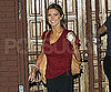 Slide Picture of Audrina Patridge Leaving Dancing Practice in LA