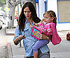 Slide Picture of Jennifer Garner and Seraphina Getting Coffee