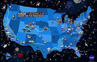 NASA and Gowalla Space Scavenger Hunt