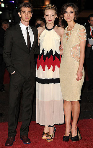 Pictures of Carey Mulligan, Andrew Garfield, and Keira Knightley at Never Let Me Go Premiere for London Film Festival