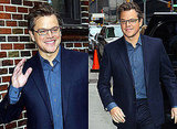 Matt Damon's Interview on The Late Show with David Letterman