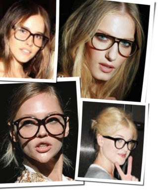 Spring 2011 Beauty Trend: Geek Chic. Tips on How to Wear Eye Makeup With Eyeglasses