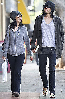 Pictures of Katy Perry and Russell Brand in LA Together