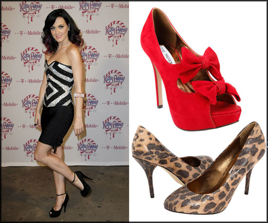 Did you hear? Katy Perry might be designing a shoe collection with Steve Madden.