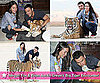 Pictures of Megan Fox and Brian Austin Green's Visit to the Big Cat Encounters Ranch
