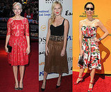 Celebrities in Longer Hemline, Ladylike Dresses 2010-10-19 04:00:03