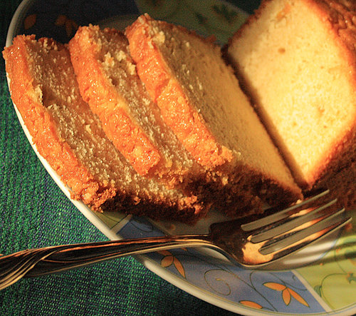 Origin of Pound Cake