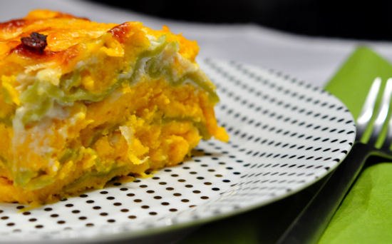 What to Make: Butternut Squash Lasagna