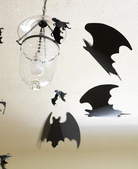 Put some (paper) bats in your belfry with these directions from Canadian House and Home.