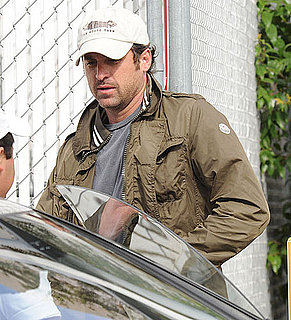 Pictures of Patrck Dempsey Leaving Lunch at Katsuya Restaurant in LA