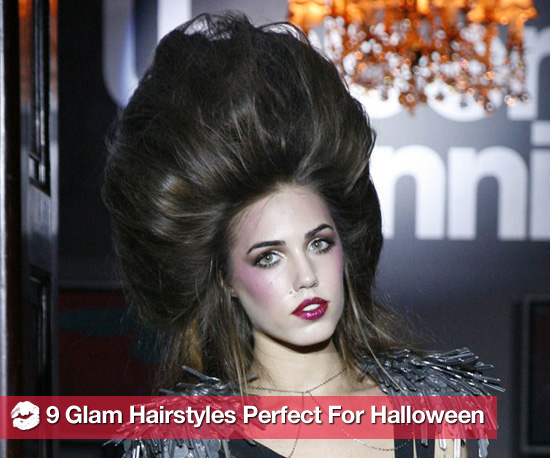 Wild Hairstyles For Halloween Inspired by Umberto Giannini&#039;s Runway Show