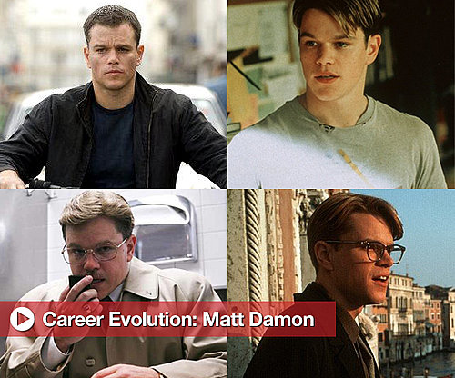 Matt Damon Career Evolution From Good Will Hunting to Hereafter 2010-10-21 17:15:36