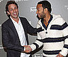 Slide Picture of Seth Meyers and John Legend