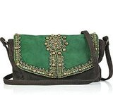 Antik Batik Embellished Suede Bag ($290)