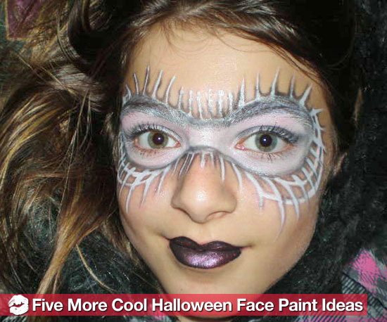 halloween face painting designs