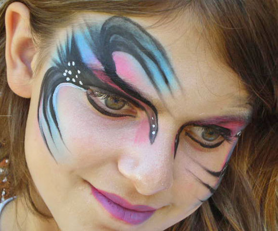 easy face painting designs