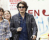Slide Picture of John Mayer Strolling Through NYC