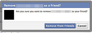 Unfriending Facebook Friends 2010-10-25 15:45:10