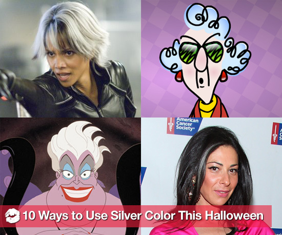 10 Wildly Fun Halloween Costumes Using Silver Spray-On Color