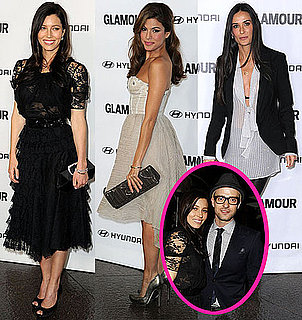 Pictures of Justin Timberlake, Demi Moore, Eva Mendes, and Jessica Biel at Glamour's Reel Gala