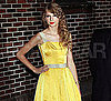 Slide Picture of Taylor Swift at The Late Show With David Letterman