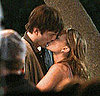 Pictures of Natalie Portman and Ashton Kutcher Kissing on the Set in LA