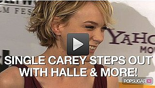 Video of Newly Single Carey Mulligan at the Hollywood Awards Gala