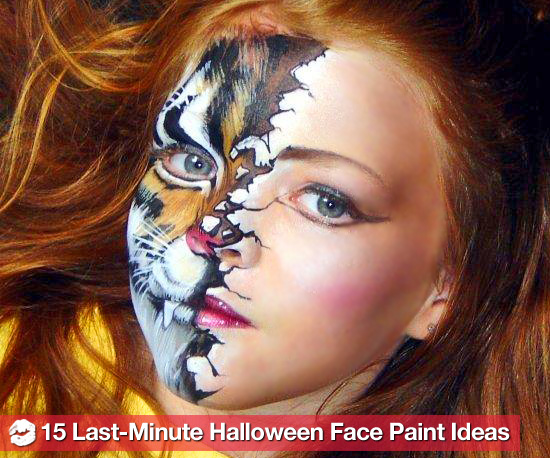 Remarkable Cool Face Paint Ideas for Halloween 550 x 458 · 107 kB · jpeg