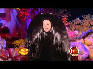 Ellen DeGeneres as Snooki's Pouf For Halloween 2010-10-29 14:00:59