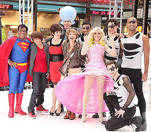 Pictures of Tina Fey, Will Ferrell, Ann Curry, and More on Today Show Halloween